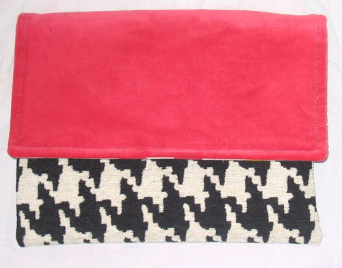 Houndstooth Accessory bag